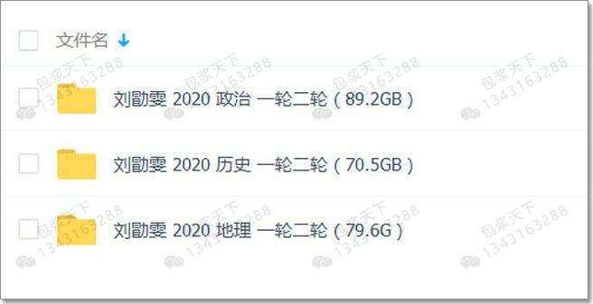 刘勖雯 2020年高考文综